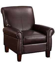 Gumble Faux Leather Club Chair