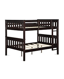 Hurley Full Over Full Bunk Bed with USB Port