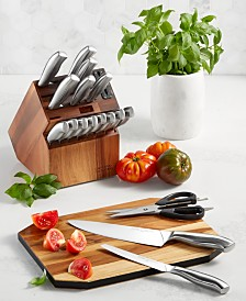 Chicago Cutlery Insignia 18-Pc. Cutlery Block Set