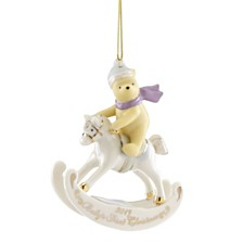 Lenox 2019 Winnie the Pooh Baby's 1st Christmas Ornament