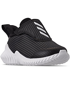 adidas Toddler Boys FortaRun Stay-Put Closure Running Sneakers from Finish Line
