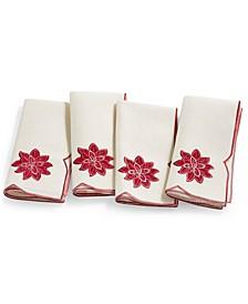 Kori Holiday Cutwork Napkins, Set of 4