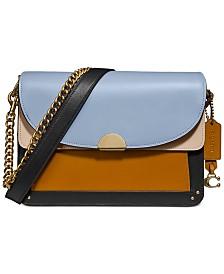 COACH Colorblock Leather Dreamer Shoulder Bag