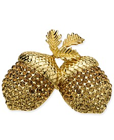 Gold-Tone Acorn Boxed Pin, Created for Macy's