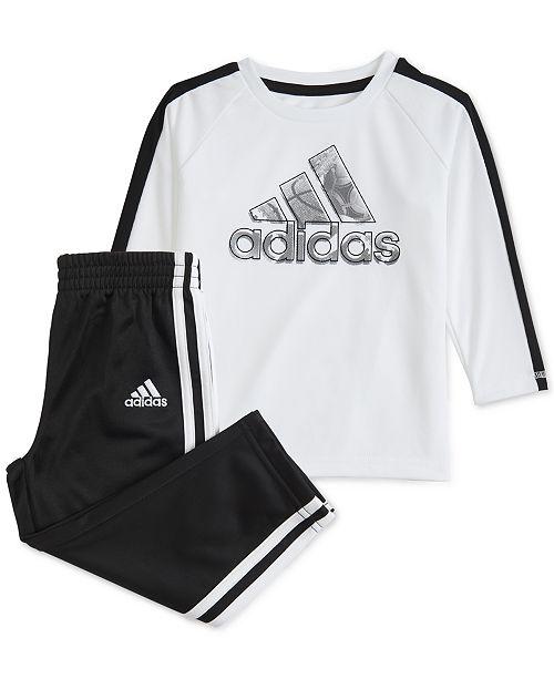 adidas shirt and pants set