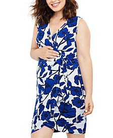 Printed Wrap Dress