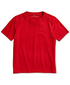 Tommy Hilfiger Adaptive Little Boys Nantucket T-Shirt with Magnetic Closure