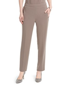 Nine West Pull-On Crepe Pants