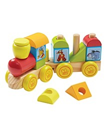 Winnie The Pooh Wooden Stacking Train