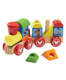 Melissa and Doug Mickey Mouse & Friends Wooden Stacking Train