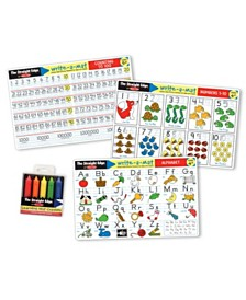 Melissa and Doug Alphabet / Numbers Placemat Bundle