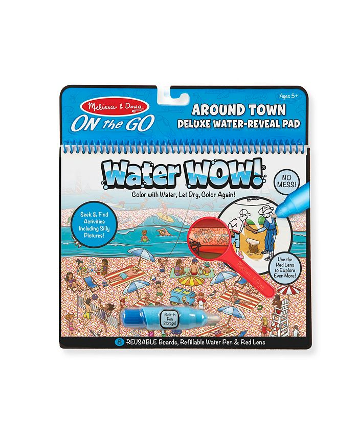 Melissa and Doug - Water Wow Around Town Deluxe Water Reveal Pad