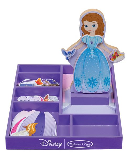 Melissa And Doug Sofia The First Wooden Magnetic Dress Up Reviews Home Macy S