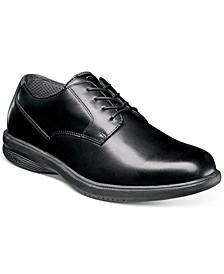 Men's Marvin Street Waterproof Plain-Toe Lace-Up Oxfords