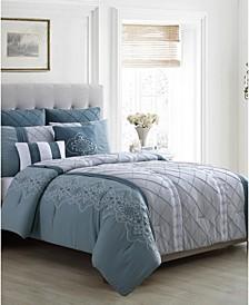 Carmie 7-Pc. Queen Comforter Set