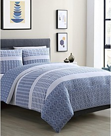 Pure 3-Pc. Full/Queen Comforter Set