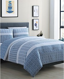 Pure 3-Pc. Full/Queen Duvet Cover Set