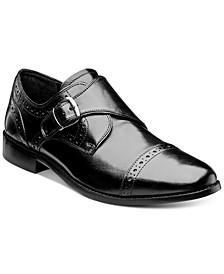 Men's Newton Brogue Monk Strap Shoes