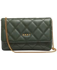 Sofia Leather Clutch Crossbody, Created for Macy's