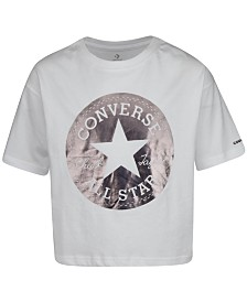 Converse Big Girls Cotton Logo-Print T-Shirt