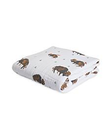 Bison Cotton Muslin Quilt