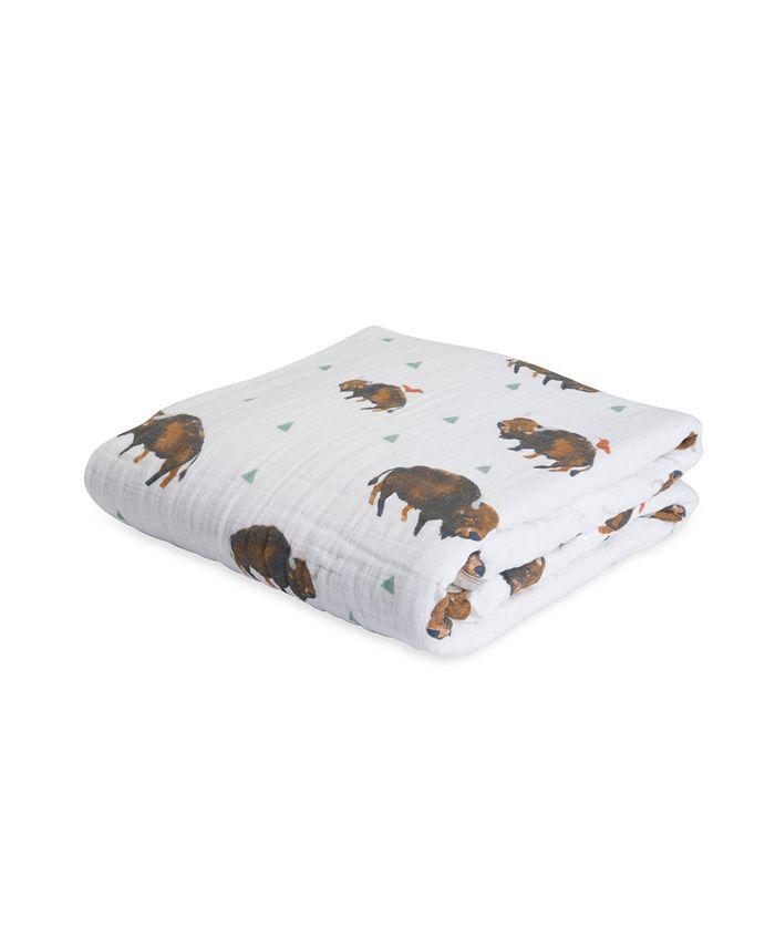 Little Unicorn - Bison Cotton Muslin Quilt