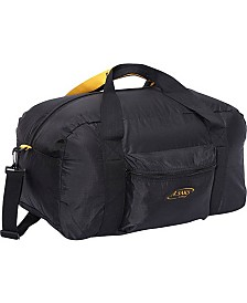 "A. Saks 22"" Carry On Duffel Bag with Pouch"