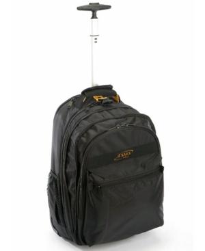 A. Saks Wheeled Expandable Computer Backpack