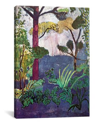 """Moroccan Landscape 1913 by Henri Matisse Wrapped Canvas Print - 26"""" x 18"""""""