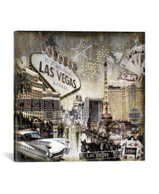 """Las Vegas by Dylan Matthews Wrapped Canvas Print - 26"""" x 26"""""""