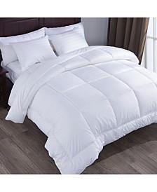 Alternative Comforter Duvet Insert Gusset Siding Squared Jacquard Fabric Full/Queen Size