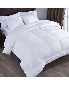 Puredown Alternative Comforter Duvet Insert Gusset Siding Squared Jacquard Fabric Full/Queen Size