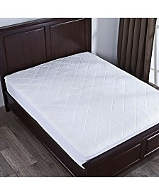 Puredown Mattress Pad with Diamond Quilting Collection