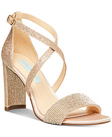 Blue by Betsey Johnson Bella Evening Sandals, Created for Macy's