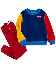 Levi's® x Crayola Little Boys Back-To-School Collection