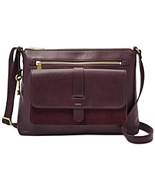 Kinley Leather & Suede Medium Crossbody