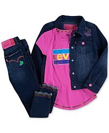 Levi's®x Crayola Little Girls Denim Collection