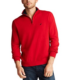 Men's Big & Tall Navtech Quarter-Zip Sweater