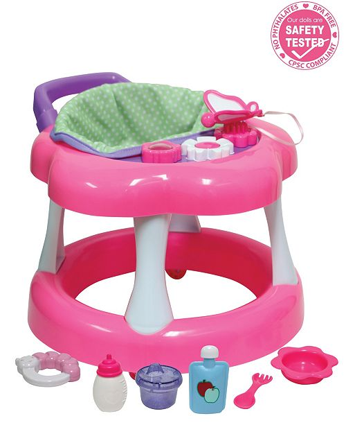 """JC TOYS For Keeps Baby Doll Walker Playset Fits Most Dolls Up to 17"""" - For Children 2 Years and older"""