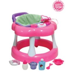 For Keeps Playtime! Baby Doll Walker Gift Set