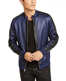 INC Men's Quilted Knit Vacation Jacket, Created for Macy's