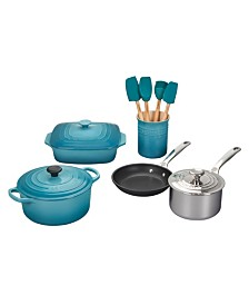Le Creuset 12-Pc. Mixed Material Cookware Set