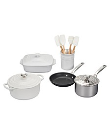 12-Pc. Mixed Material Cookware Set