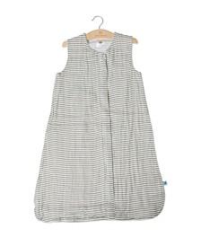 Grey Stripe Sleep Bag - Size Medium
