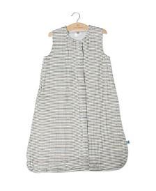 Little Unicorn Grey Stripe Sleep Bag - Size Medium