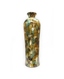 """Heather Ann Creations Tinsley Collection 32"""" Lacquered Floor Vase"""