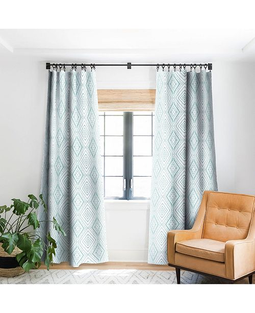 Deny Designs Jacqueline Maldonado Dye Dash Green Curtain