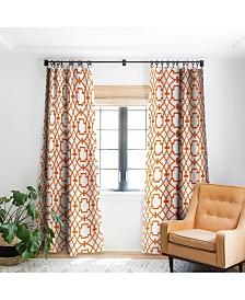 Deny Designs Caroline Okun Burnt Orange Umbria Curtain