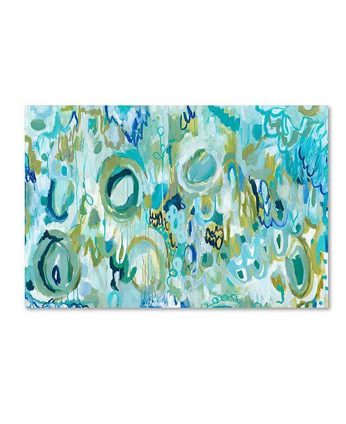 "Trademark Global Carrie Schmitt 'Ujjayi Pranayama' Canvas Art - 16"" x 24"""