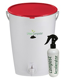 Exaco Trading Urban Composter and Urban Compost Accelerator Spray Kit